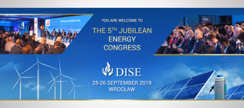 Invitation to the 5th Energy Congress, 25-26 of September, 2019 in Wroclaw