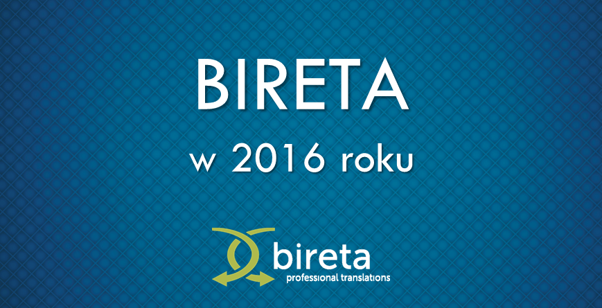 Bireta w 2016 roku
