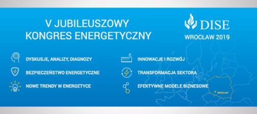 Plakat V Kongresu Energetycznego DISE