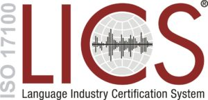 Logo ISO 17100 LICS